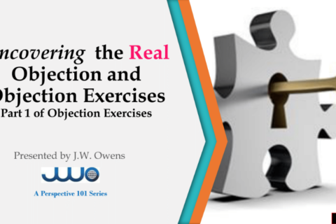 Uncovering the Real Objection
